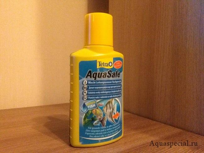 Кондиционер для воды в аквариум. Tetra aqua safe