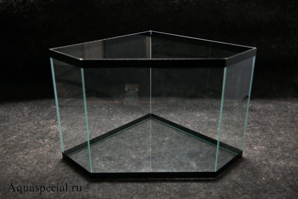 Угловой панорамный аквариум. Виды и формы аквариумов. Аквариум своими руками
