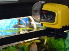 Автокормушка для аквариума фото